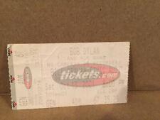 Bob Dylan Concert Ticket Stub 10-13-2001