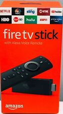 Amazon Fire Tv Stick With Alexa Voice Remote, Brand New