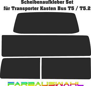 Scheiben Aufkleber Set T5 Bus Kasten Transporter T5.2