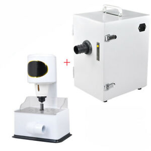 Dental lab Grind Inner Model Arch Trimmer Trimming Dust Collector Vacuum Cleaner