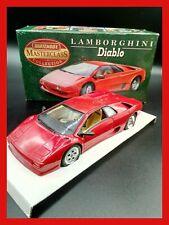 1:24 1/24 MATCHBOX LAMBORGHINI DIABLO colore rosso - MB