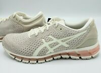 Asics Gel Quantum 360 Knit Birch Feather Grey Running Shoes T890N Women's 10