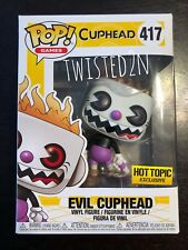 Funko Pop Games #417 Evil Cuphead Hot Topic Exclusive In Hand
