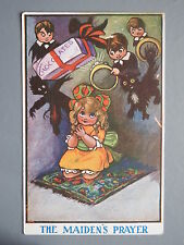 R&L Postcard: Comic, PPC, Praying Girl, Chocolates, Wedding Ring, Chimney Sweep