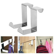 Cabinet Door Hooks Z Hanger Metal Hanging Hooks for Kitchen Bathroom  Office