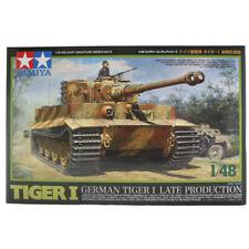 Tamiya German Tiger I Late Production Tank Model Set - Scale 1:48 - 32575
