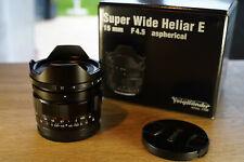 Voigtländer 15mm 4,5 Super Wide Heliar 15mm F/4,5 Asphärisch III  Sony E-Mount
