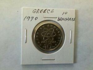Greece 1990 10 Drachmai