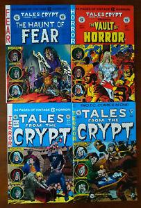 Haunt of Fear #1 Vault Of Horror 1 Tales From The Crypt 1 & 6 EC Reprints Horror