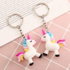 Rainbow Unicorn Keyring Bag Hang Purse Tag Phone Tag Fun Cool Cute Unicorn NEW