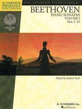 Ludwig van Beethoven: Sonates de Piano-Volume 1 (les numéros 1-15)