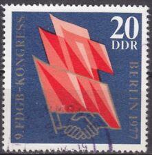 DDR Mi.-Nr. 2219 gestempelt 20 Pf. Kongress des FDGB