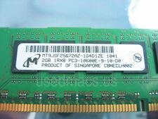 8GB (4x 2GB) Apple OEM Micron PC3-10600 DDR3 1333MHz ECC Memory RAM Mac Pro