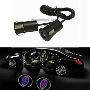 Ghost Shadow LED Projector Courtesy Car Door Light Mutil Logo Options New Pair