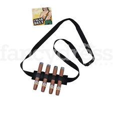 Estilo Mexicano Cigarro sash/belt Militar Fancy Dress Accesorio