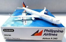 SCHABAK 955/90 Philippine Airlines Airbus A 340 White Collectible Model Plane