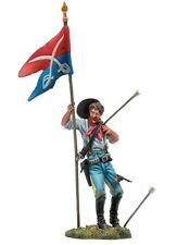 7th Cavalry Toy Soldier Custer Flag Bearer Black Hawk 1/32 Britains King Country