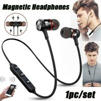 HOT Magnetic In-Ear Headphone Bluetooth Stereo Earphone Headset Wireless Earbuds
