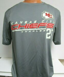 KANSAS CITY JAMAAL CHARLES CHIEFS TEAM NFL AUTHENTIC SIZE LARGE MENS SHIRT NEW
