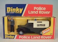 Dinky Toys 277 Police Land Rover Polizei OVP #3814