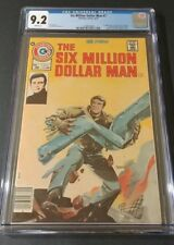 The Six Million Dollar Man #1 CGC 9.2