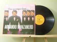 ARMANDO MANZANERO - PARA MI SIEMPRE AMOR - LP VINYL EXCELLENT