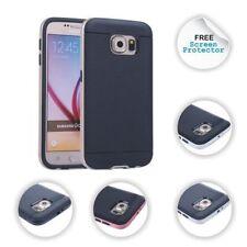 Housses et coques anti-chocs Samsung Galaxy S6 en silicone, caoutchouc, gel pour téléphone mobile et assistant personnel (PDA)