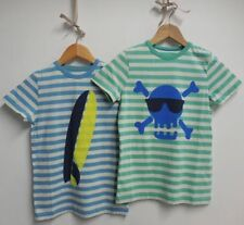 Boden Boys' Striped Crew Neck T-Shirts & Tops (2-16 Years)