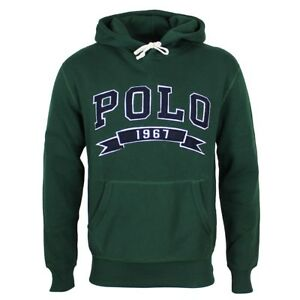Polo Ralph Lauren Classic Green Hoodie SMALL *NEW WITH TAGS* RRP £140