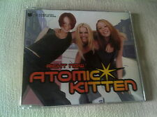 ATOMIC KITTEN - RIGHT NOW - UK CD SINGLE