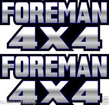 Foreman 4x4 Blue Gas Tank Graphic TRX 450 400 500 Decal Sticker Atv Quad Fender