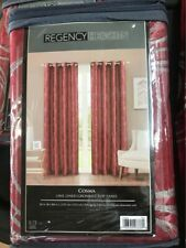 Regency Heights Cosma Red Curtain - 4 Panels