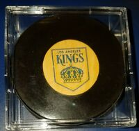 Extremely rare Los Angeles Kings Canada NHL approved viceroy vintage hockey puck