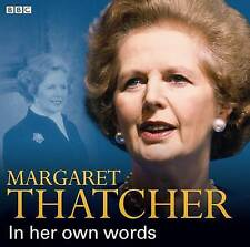 MARGARET THATCHER  IN HER OWN WORDS - CD AUDIO BOOK - NEW/SEALED
