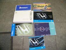 2003 HONDA ACCORD OWNERS MANUAL with navigation