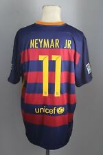 FC Barcelona Trikot Home Gr XXL #11 Neymar JR FCB Nike Jersey Qatar Airways Neu