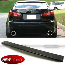 For 06-12 Lexus IS250 IS350 JDM Unpainted Rear Window Roof Wing Spoiler Visor