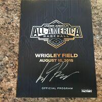 Seth Beer Signed 2015 Under Armour All American Game Program Astros Diamondbacks