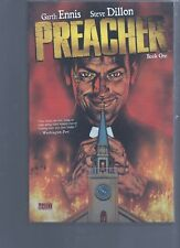 PREACHER BOOK ONE TRADE PAPERBACK REPRINTS 1 TO 12 / DC VERTIGO COMICS