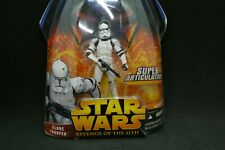 Star Wars Revenge of the Sith Deluxe Clone Trooper Firing Jet Backpack MOC (ST)