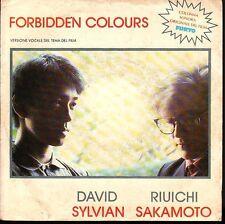 12449  DAVID SYLVIAN RIUICHI SAKAMOTO FORBIDDEN COLOURS