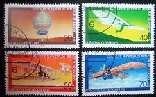B0 159  BERLIN 1978 Michel 563 - 566 Jugend Luftfahrt gestempelt