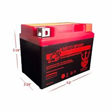 New YTX4L-BS ATV Battery Can Am DS50 Quest DS70 DS90 Kasea Mini Skyhawk Chinese