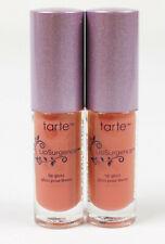 Lot Of 2 Tarte Exposed Lip Surgence Mini Lip Glosses 0.05 oz Each New