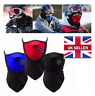 MEN WOMEN HALF FACE FLEECE BALACLAVA SKI MASK SNOWBOARD MOTORBIKE WINTER SPORTS