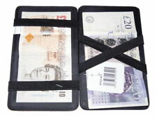 Leather magic wallet milkman taxi bus money puzzle wallet holds notes 8013