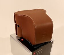 Leica M Typ 240 Large-Front Cognac Leather Case #14550 - Low, Low Pricing!