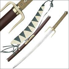 Samurai Champloo MUGEN Katana Typhoon Swell Anime Samurai Sword Steel Replica