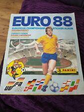 panini euro 88 album 100% Complete