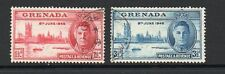 Grenada 1946 victory fine used set stamps